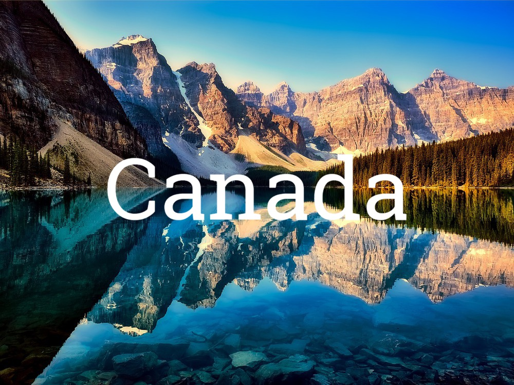 Canada, Lake Moraine